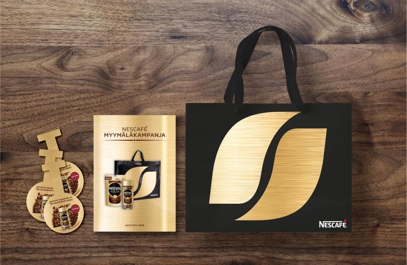 Nescafé kulta materiaalit