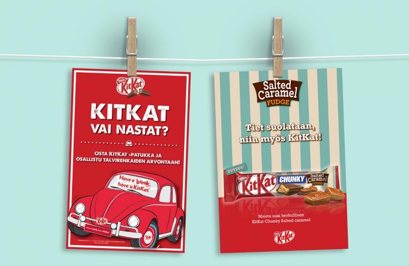 KitKat vai nastat